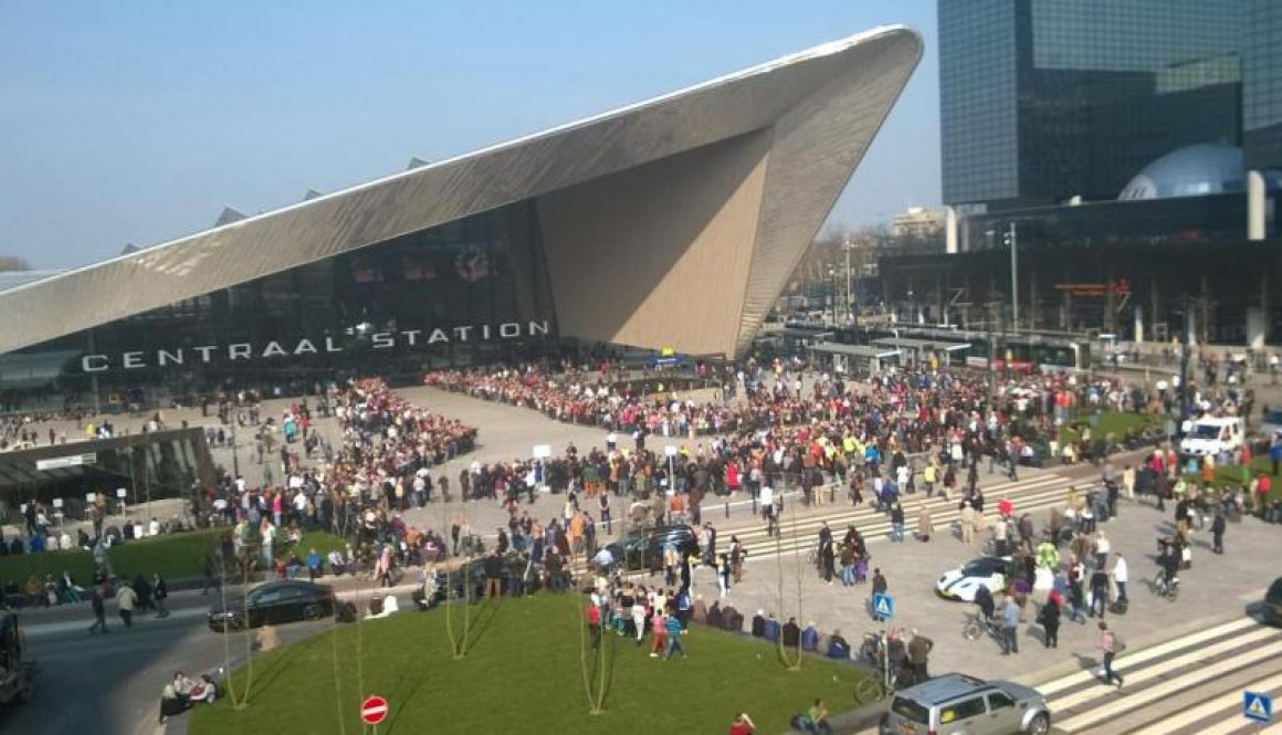 Opening Centraal Station Rotterdam 2014